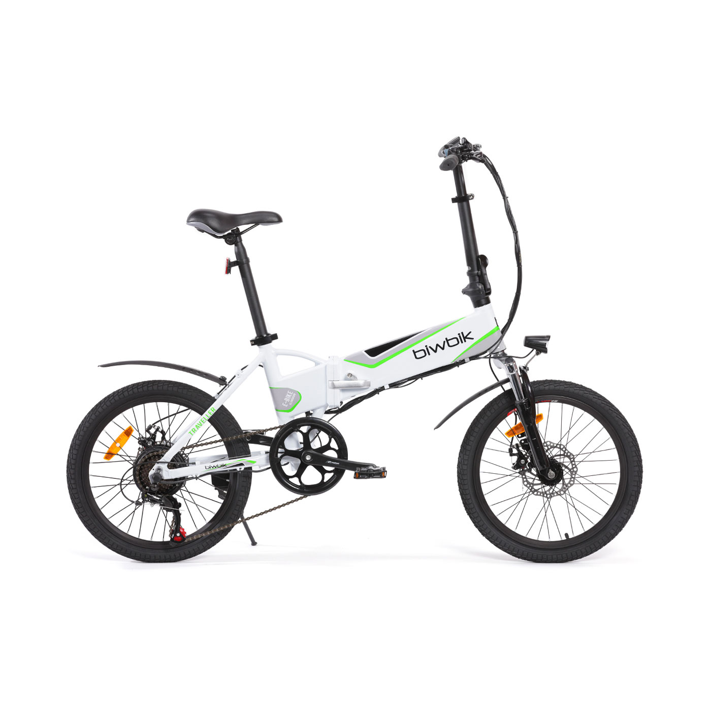 Bicyclette électrique pliable Traveller white 2.0
