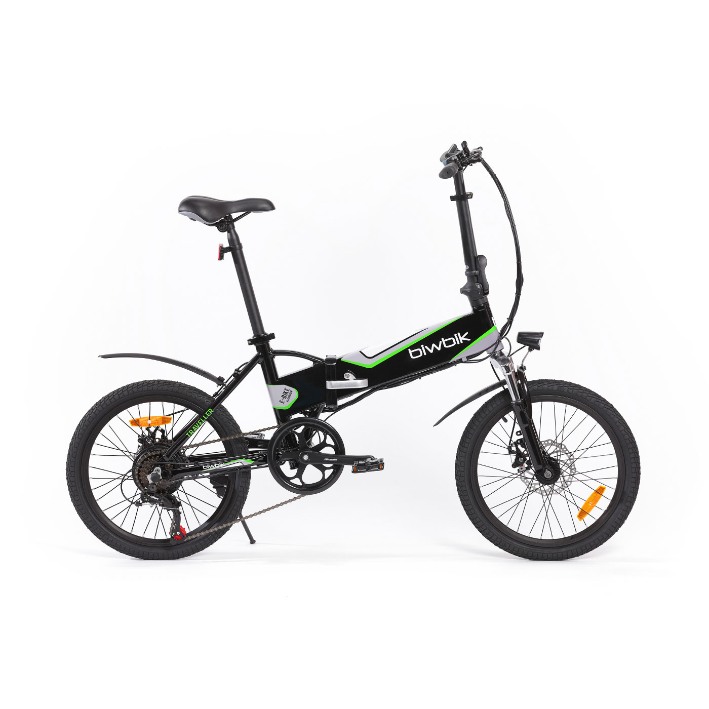 Electric bike folding Traveller black 2.0