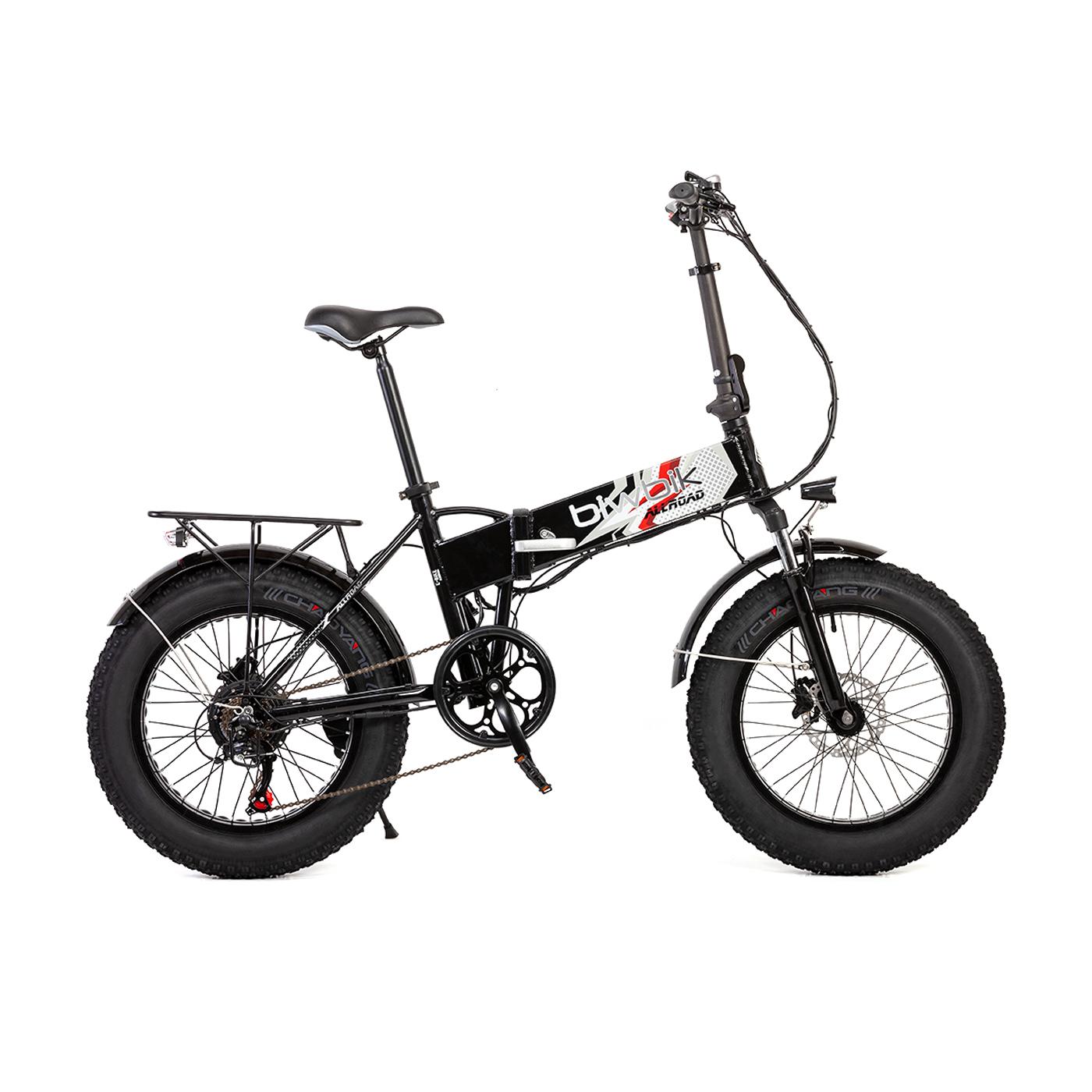 Bicicleta eléctrica plegable Traveller all road white
