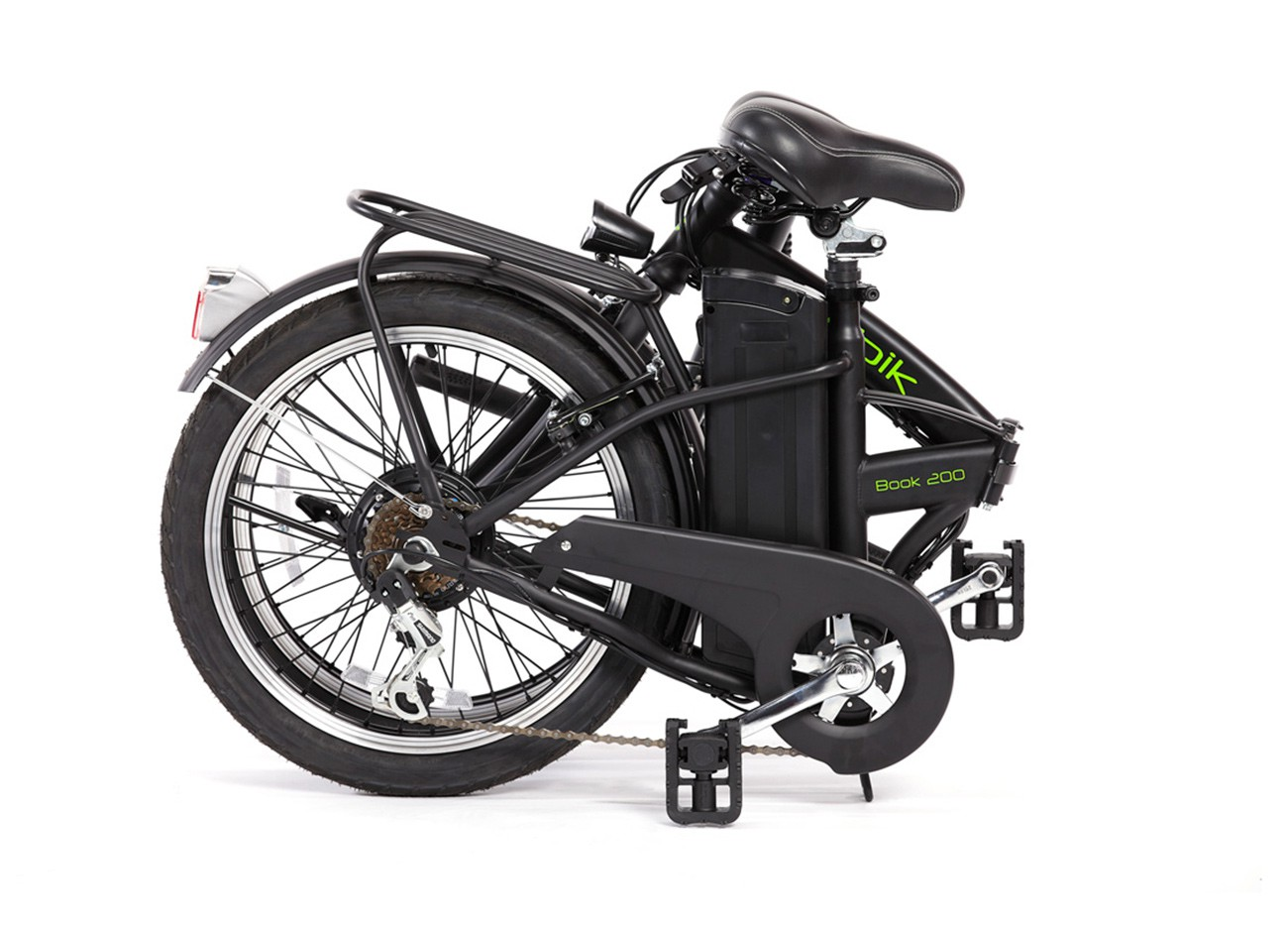 Folding electric bicycle Book